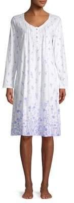 Carole Hochman Floral Cascade Short Nightgown