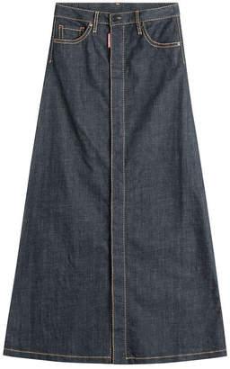 DSQUARED2 Denim Maxi Skirt
