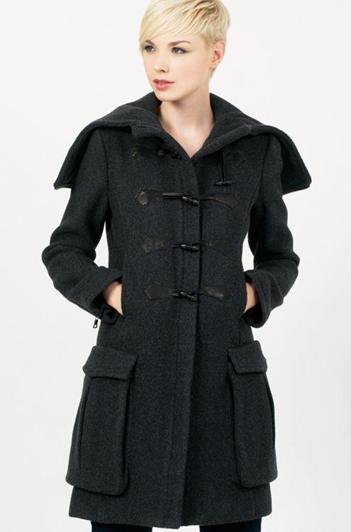 Rag & Bone Corduroy Duffle Coat