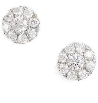 Bony Levy Simple Obsessions Pave Diamond Stud Earrings