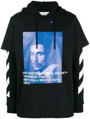 Off-White Bernini print hoodie