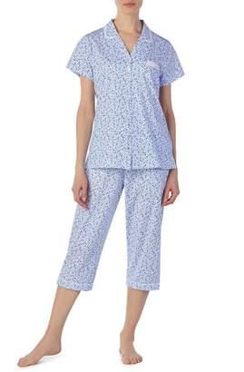 Eileen West Jersey Capri Pajamas