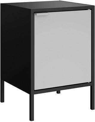 Manhattan Comfort Smart Metal Accent End Table