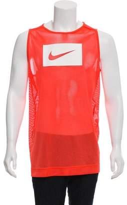 Nike Mesh Logo Sleeveless T-Shirt