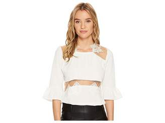 Bishop + Young Bianca Peekaboo Top Women's Clothing