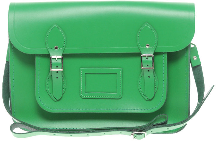 Cambridge Satchel Company Green 14