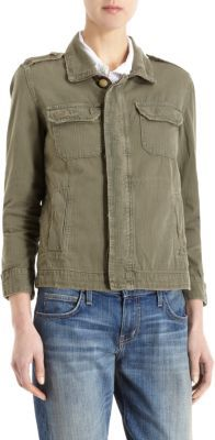 Current/Elliott Battalion Jacket