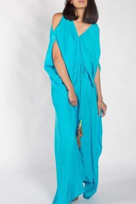Anupamaa Turquoise Tusha Dress