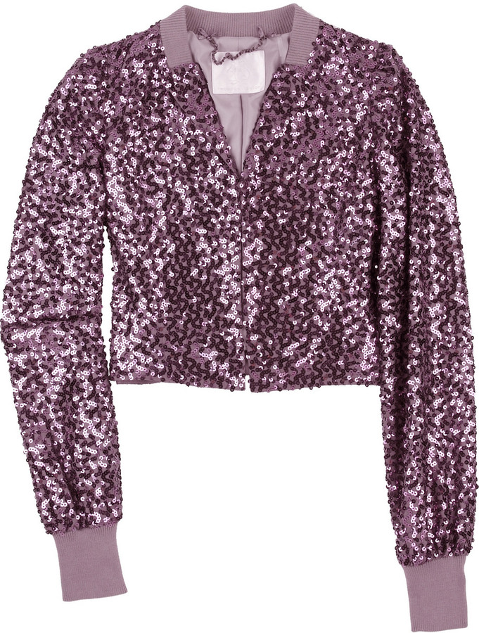 Rebecca Taylor Sequin dinner jacket