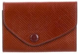 Bottega Veneta Embossed Leather Key Holder