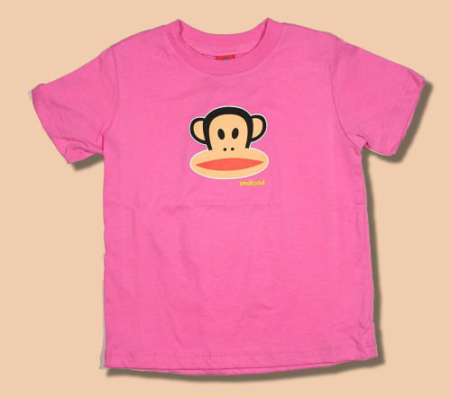 Small Paul by Paul Frank Bubblegum Julius Tee