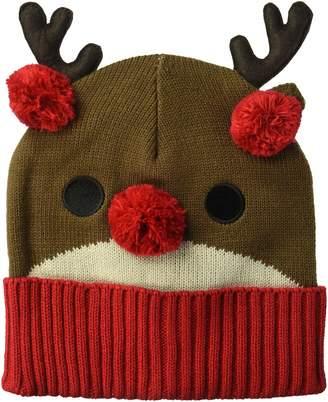 Collection XIIX Ltd. Women's Reindeer Rib Cuff Hat