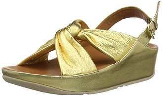 0881fcda0538 at Amazon.co.uk · FitFlop Women s Ruche Twist Grace Sandal-Leather Open Toe  (Artisan Gold 667)