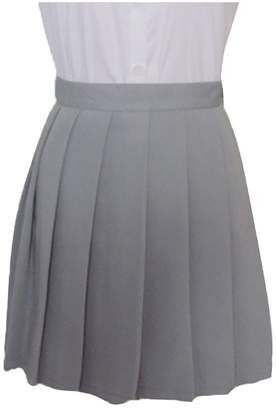 Come On Comeon Girls School Uniforms Solid Pleated Mini Skirt Vintage Skirts Tennis Skirt