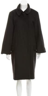 Acne Studios Wool Bell Sleeve Coat