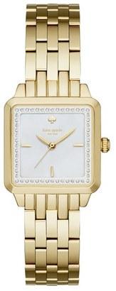 Women's Kate Spade New York Washington Square Bracelet Watch, 25Mm $275 thestylecure.com