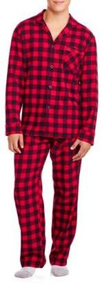 Hanes Men's Flannel Pajama Set