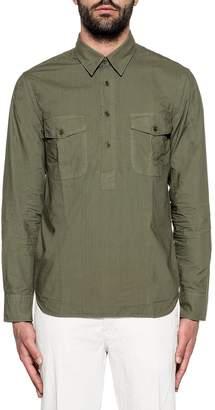 Aspesi Army Green Slip On Shirt