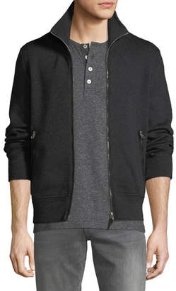 Tom Ford Men's Wool Zip-Front Sweater