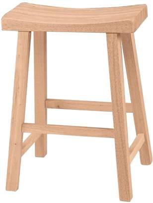 International Concepts Saddle Seat Counter Stool