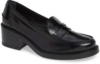 Tod's Block Heel Loafer