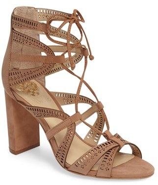 Women's Vince Camuto Mindie Ghillie Sandal $129.95 thestylecure.com