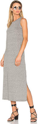 Current/Elliott The Perfect Muscle Tee Dress in Gray $138 thestylecure.com