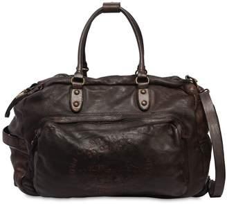 Campomaggi Leather Duffle Bag Trolley