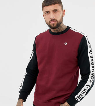Converse Sweat With Tape Side Stripe Exclusive To ASOS