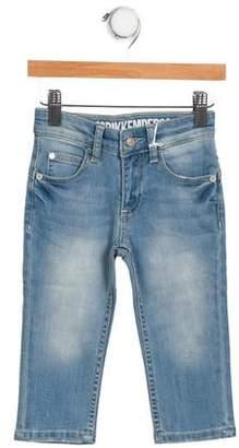 Bikkembergs Boys' Straight-Leg Denim Bottoms w/ Tags