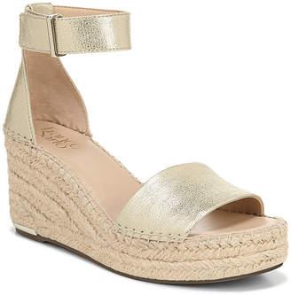 0e14d113059 Franco Sarto Gold Wedge Women's Sandals - ShopStyle