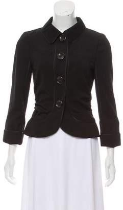 Louis Vuitton Wool Casual Jacket