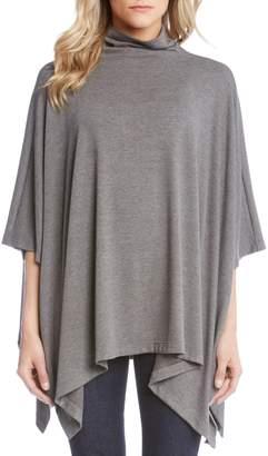 Karen Kane Funnel Neck Sweater Poncho