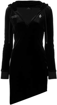 Marcelo Burlon County of Milan v-neck sweater dress