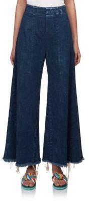 Chloé Chloe High-Waist Wide-Leg Jeans
