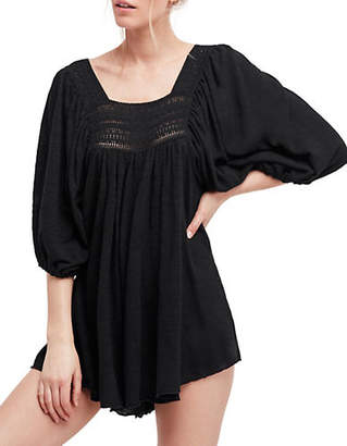 Free People Oversized Dancing in the Waves Romper