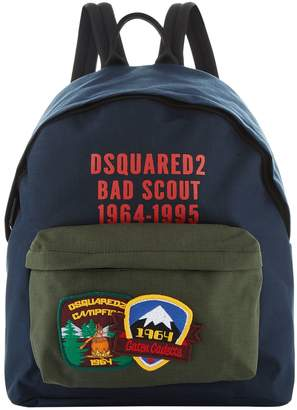 DSQUARED2 Scout Badge Backpack