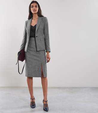 Reiss ALBER Skirt TAILORED PENCIL SKIRT Grey