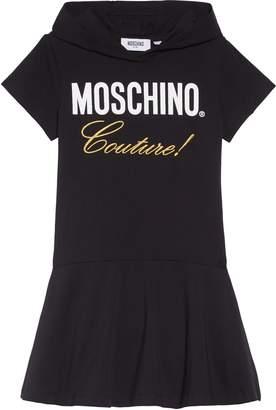 Moschino Hooded T-Shirt Dress