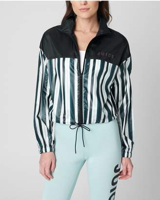 Juicy Couture JXJC Shiny Zip Up Track Pullover
