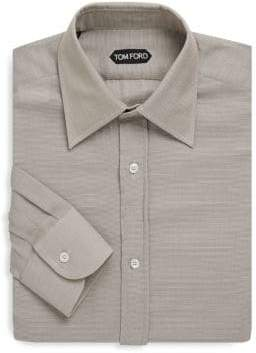Tom Ford Pinstripe Cotton Dress Shirt