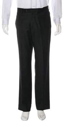 Loro Piana Wool & Cashmere Flat Front Pants