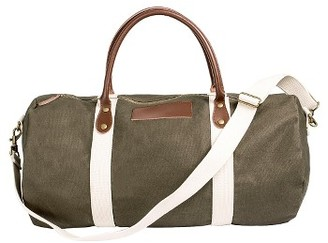 Cathy's Concepts Monogram Duffel Bag - Green $89 thestylecure.com