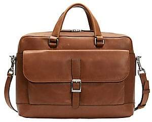 Frye Men's Oliver Two-Handle Leather Messenger Bag