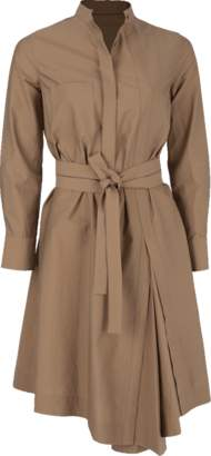 Brunello Cucinelli Wrap Belt Shirt Dress