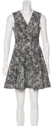 Rebecca Taylor Printed Sleeveless Mini Dress w/ Tags
