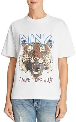 Anine Bing Tiger Graphic Tee
