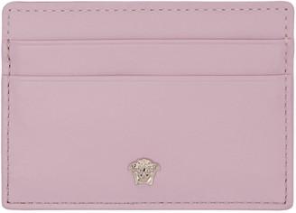 Versace Pink Medusa Card Holder $225 thestylecure.com