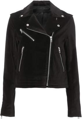 Rag & Bone Mercer Velvet Moto Jacket