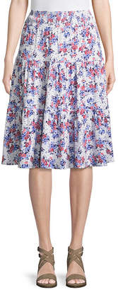 ST. JOHN'S BAY Flip Flop Skirt - Tall 27